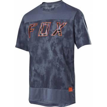 FOX Ranger DR Elevated Mountainbike kurzarm Shirt, dunkelblau, 26145-305