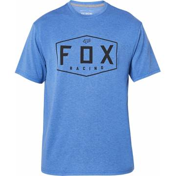 FOX Tech T-Shirt Herren Crest | dunkelblau | 25993-598