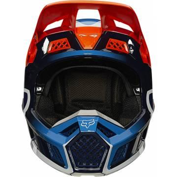 FOX V3 RS Wired Motocross Helm   orange   25814-824 Frontansicht