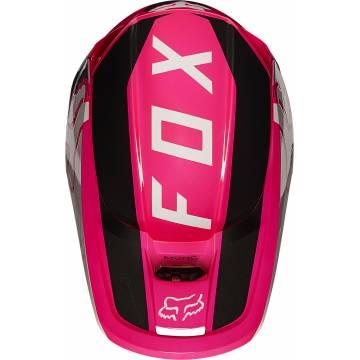 FOX V1 Revn Motocross Helm   pink   25819-170 Ansicht oben