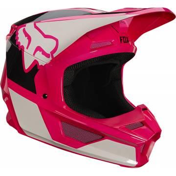 FOX V1 Revn Motocross Helm   pink   25819-170 Seitenansicht