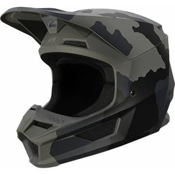 FOX V1 Trev Motocross Helm | camo schwarz | 27734-247