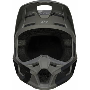 FOX V1 Trev Motocross Helm   camo schwarz   27734-247 Ansicht vorne