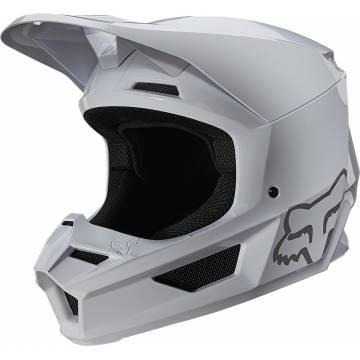 FOX V1 Plaic Motocross Helm | weiß | 26575-008