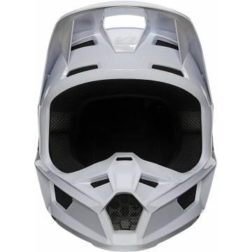 FOX V1 Plaic Motocross Helm   weiß   26575-008 Ansicht vorne