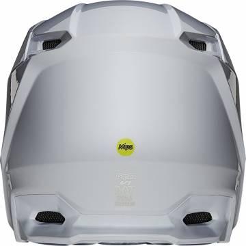 FOX V1 Plaic Motocross Helm   weiß   26575-008 Ansicht hinten