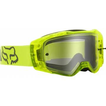 FOX Mach One Motocross Brille | neongelb | 25827-130-OS Seitenansicht
