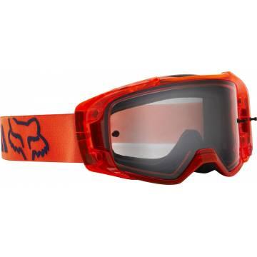 FOX Vue Mach One Motocross Brille   orange   25827-824-OS Seitenansicht