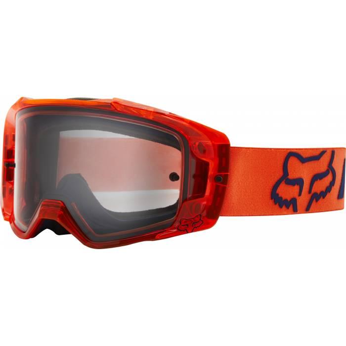 FOX Vue Mach One Motocross Brille   orange   25827-824-OS