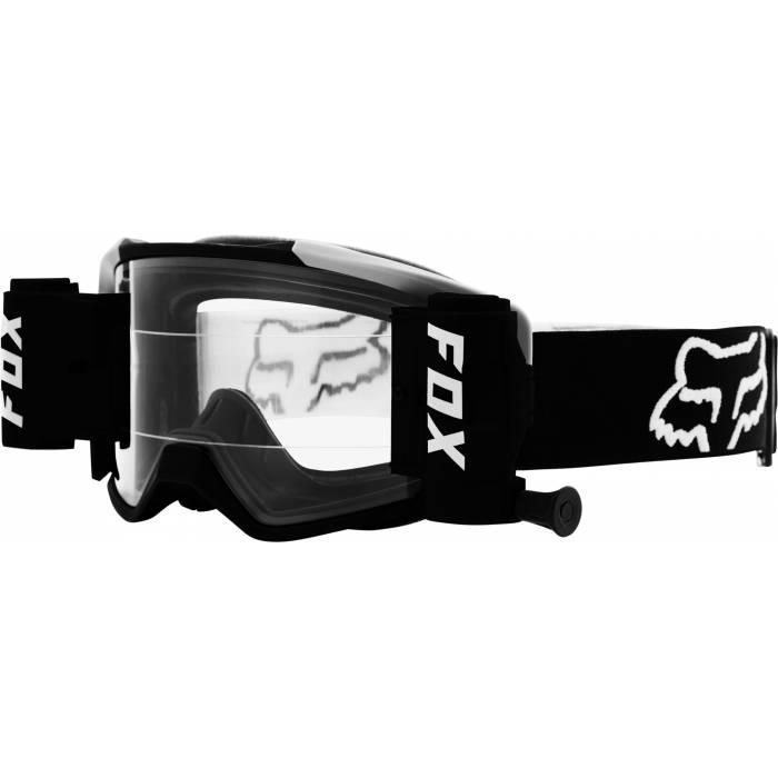 FOX Vue Stray Roll Off Motocross Brille | schwarz-weiß | 25829-001-OS