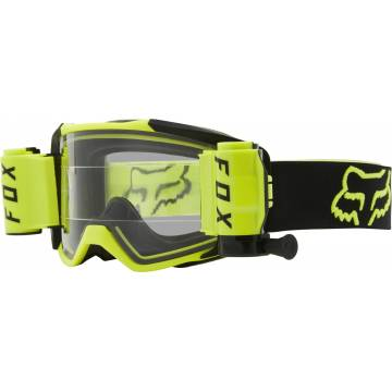 FOX Vue Stray Roll Off Motocross Brille | neongelb-schwarz | 25829-130-OS