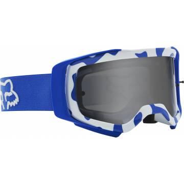 FOX Airspace Stray Motocross Brille | blau-weiß | 25831-002 Seitenansicht