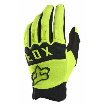 FOX Kinderhandschuhe Dirtpaw | neongelb | 25868-130