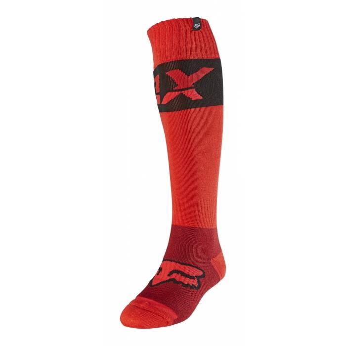 FOX MX Kniesocken Afterburn | rot | 25899-110