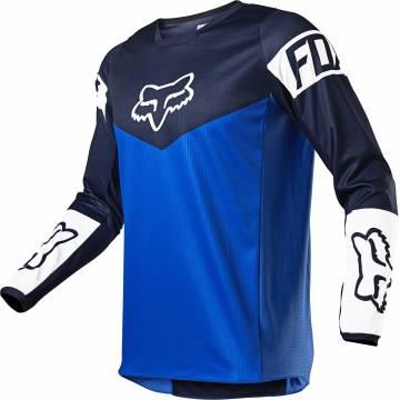 FOX 180 Revn Motocross Jersey | blau | 25762-002