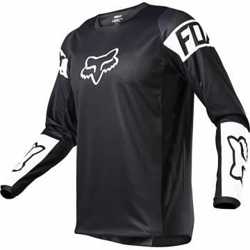 FOX 180 Revn Motocross Jersey | schwarz-weiß | 25762-018