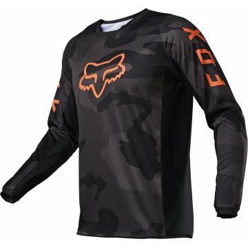 FOX 180 Trev Motocross Jersey | camo-schwarz | 26456-247