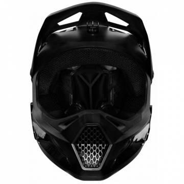 FOX Kinder MTB Downhill Fullface Helm Rampage | schwarz | 25968-021 Ansicht vorne