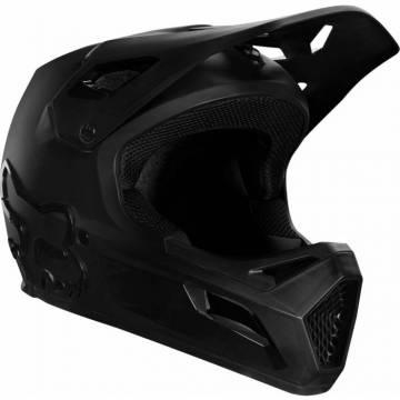 FOX Kinder MTB Downhill Fullface Helm Rampage | schwarz | 25968-021 Seienansicht
