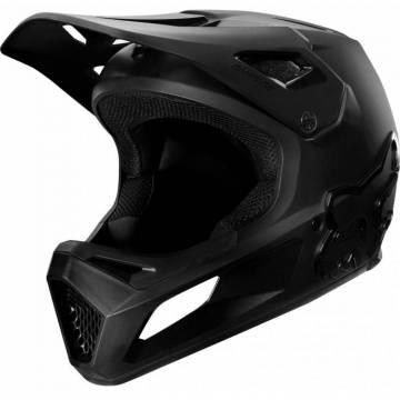 FOX Kinder MTB Downhill Fullface Helm Rampage | schwarz | 25968-021