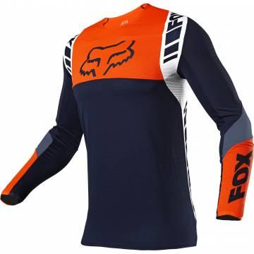 FOX Flexair Jersey Mach One | dunkelblau orange | 25748-007