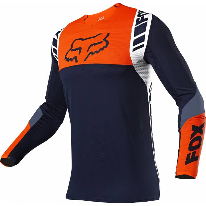 FOX Flexair Jersey Mach One | dunkelblau orange | 25748-007