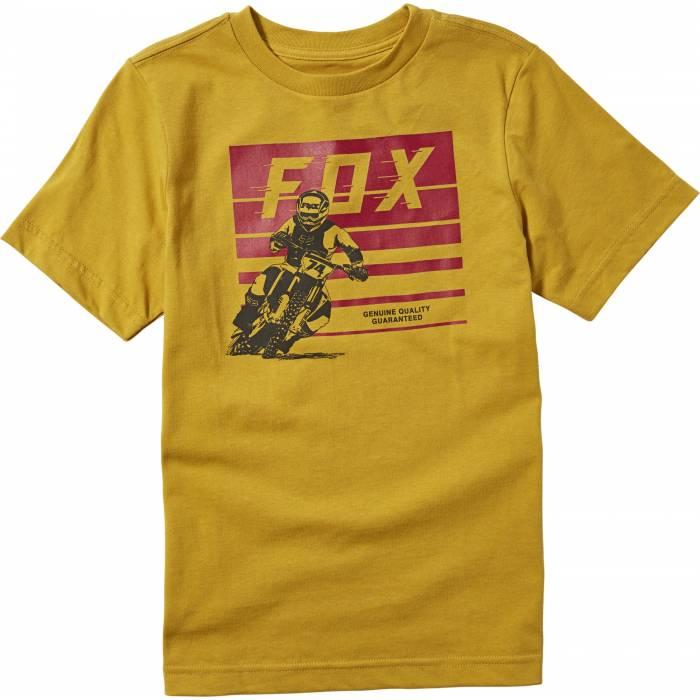 FOX Kinder T-Shirt Advantage | senfgelb | 25916-440