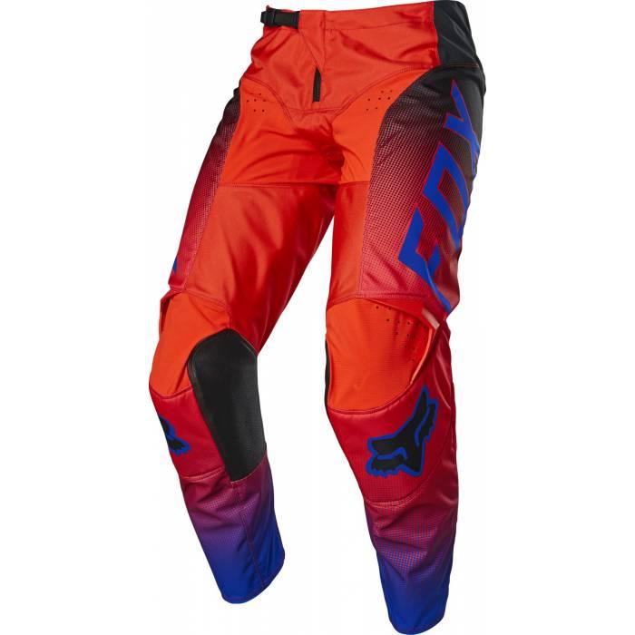 FOX 180 Kinder Motocross Hose Oktiv   rot   25865-110
