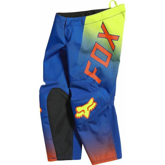 FOX 180 Kids Motocross Hose Oktiv | blau neongelb | 25883-002