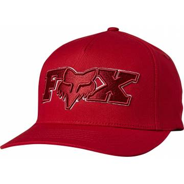 FOX Cap Ellipsoid | Flexfit | rot | 24421-555
