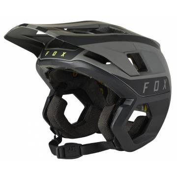 FOX Mountainbike Helm Dropframe Pro | schwarz grau | 27493-001
