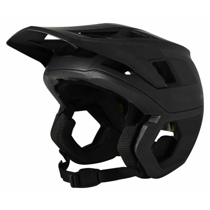 FOX Dropframe Pro Mountainbike Helm | schwarz matt | 26800-001