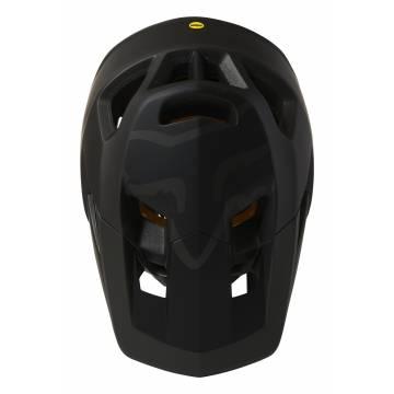 FOX Mountainbike Fullface Helm Proframe   schwarz matt   26798-001 Ansicht Oberseite