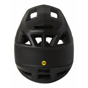 FOX Mountainbike Fullface Helm Proframe   schwarz matt   26798-001 Ansicht Rückseite
