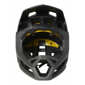 FOX Mountainbike Fullface Helm Proframe   schwarz matt   26798-001 Ansicht Vorderseite
