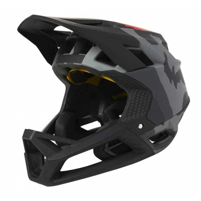 FOX Mountainbike Fullface Helm Proframe Camo | camo-grau | 26806-247