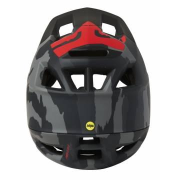 FOX Mountainbike Fullface Helm Proframe Camo | camo-grau | 26806-247 Ansicht Rückseite