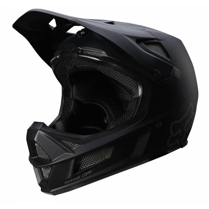 Fox Rampage Comp Mountainbike Fullface Helm | schwarz matt | 26361-255