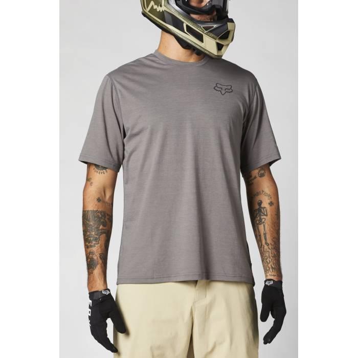 FOX MTB Jersey Ranger Powerdry | kurzarm | grau | 27427-052