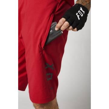 FOX MTB Hose Ranger | kurz | rot | 25128-555 Ansicht Hosentaschen