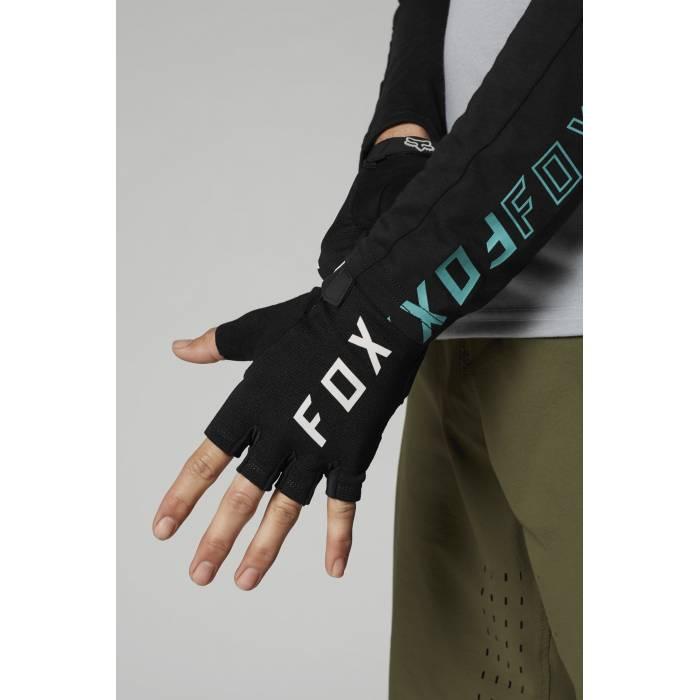 FOX MTB Handschuhe Ranger Gel   kurzfinger   schwarz   27379-001