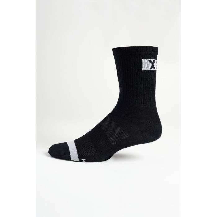 "FOX MTB Socken Flexair Merino | 6"" lang | schwarz | 27422-001"