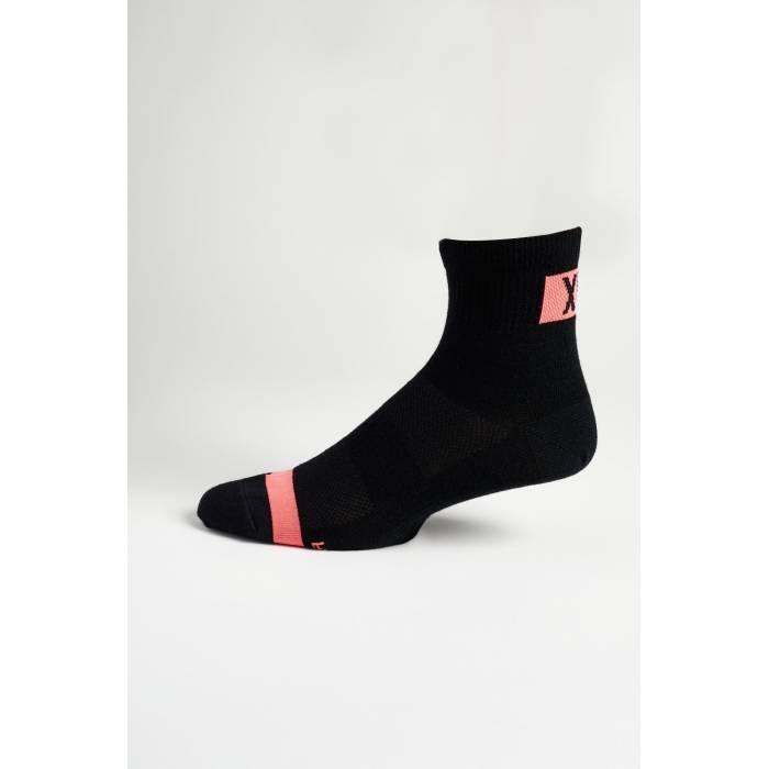 "FOX MTB Socken Flexair Merino | 4"" lang | schwarz | 27424-001"