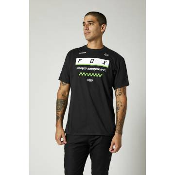 FOX Herren T-Shirt Pro Circuit Block | schwarz | 26936-001