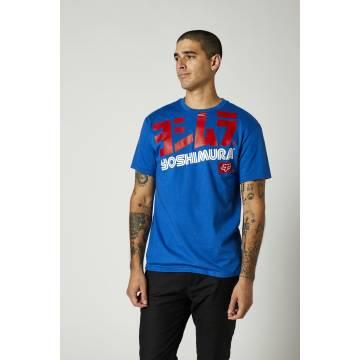 FOX Herren T-Shirt Yoshimura | blau | 26955-159