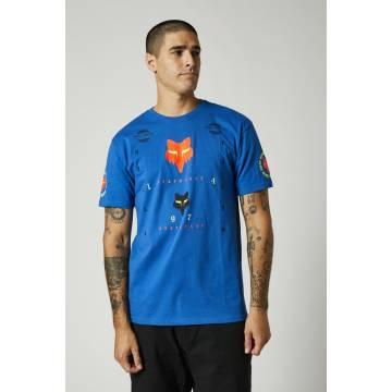 FOX Herren Premium T-Shirt Mawlr | blau | 26958-159