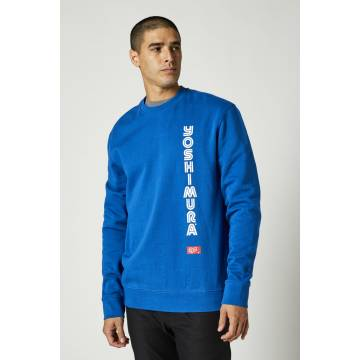 FOX Pullover Herren Yoshimura Crew | blau | 26953-159