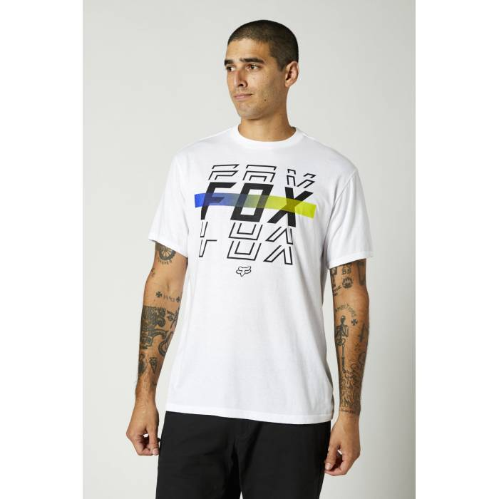 FOX Basic T-Shirt Cranker | weiß | 27002-190