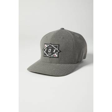 FOX Cap Burnt | Flexfit | grau | 27095-052