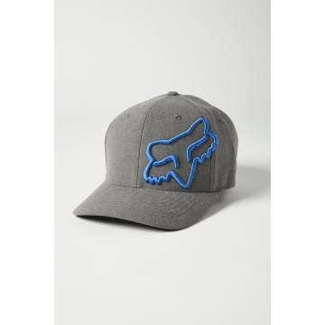 FOX Cap Clouded 2.0 | Flexfit | grau | 27089-052
